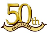 50th anniversary clipart