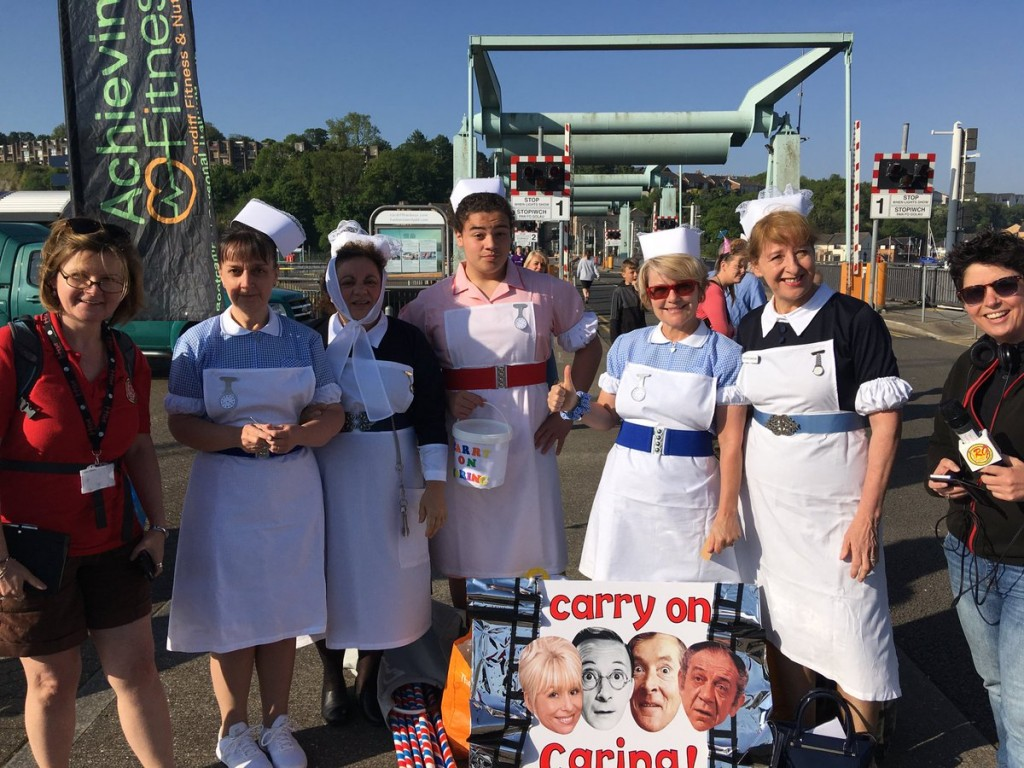 Carry on caring bed push