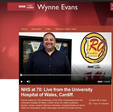 BBC Wynne Evans screen shot